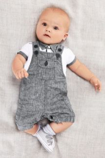 baby boy coverall