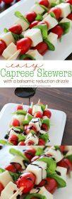 caprese skewers