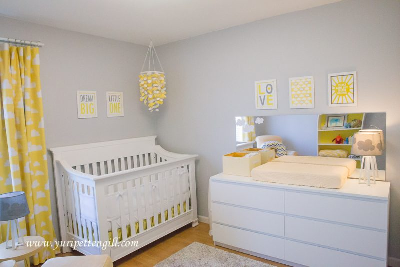 Baby Boy Nursery Ideas - Cloud Themes Nursery