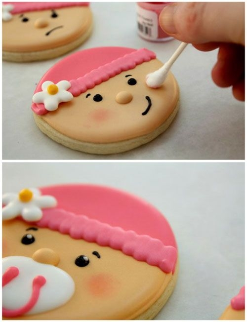 BABY SHOWER COOKIES DISH