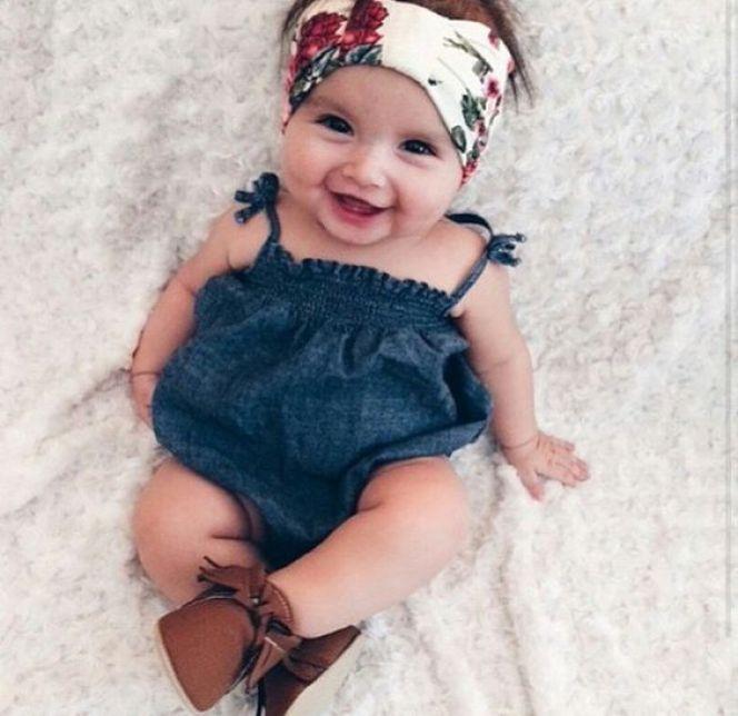 Newborn Baby Girl Dresses - Summer Style Baby Girl Dresses