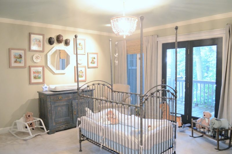 Baby Boy Nursery Ideas - Natural Nursery
