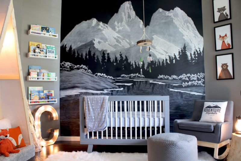 Baby Boy Nursery Ideas - Outdoor Nursery Theme