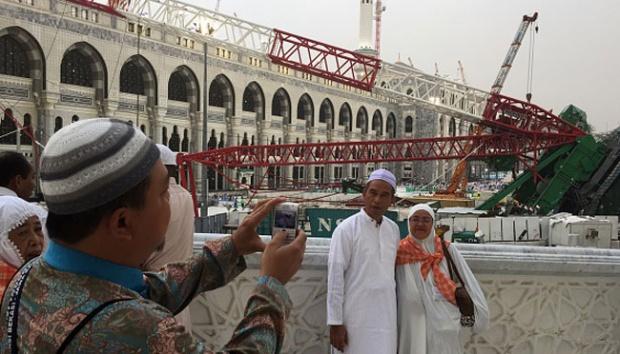 Tragedi Masjidil Haram di Mekah (dok TEMPO)