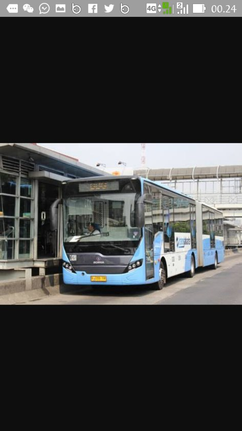 Armada bus TransJakarta (dok TDB)