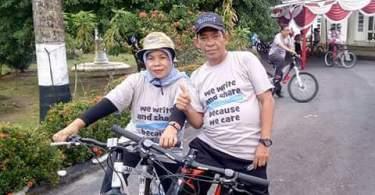 GOWES PANGKALPINANG bersama Walilota Irwansyah (dok pribadi)