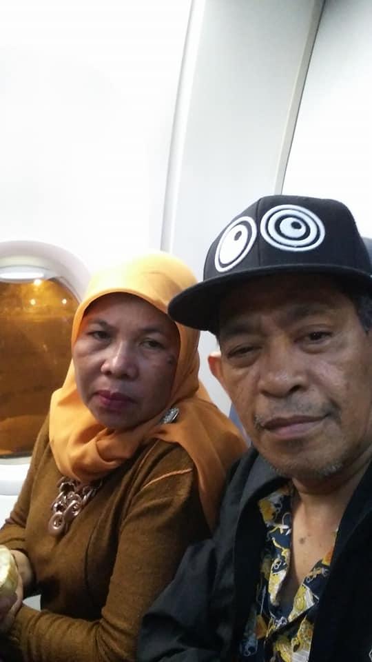 Menjelang take off dari Bandara Soekarno Hatta Jakarta (foto Nur Terbit)