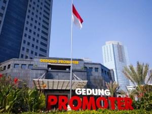 Gedung lokasi acara peluncuran PMJNews (foto dok pribadi)