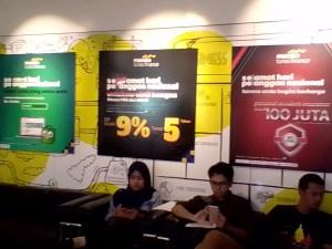 Sejumlah program MTF untuk memanjakan pelanggan (foto : Nur Terbit)