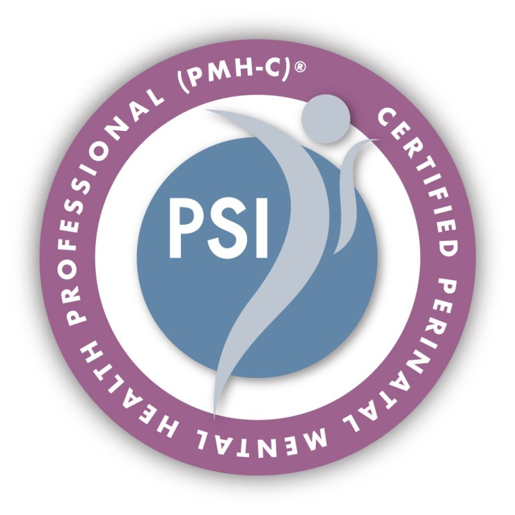 This is the badge that certifies providers as perinatal mental health professionals. It is granted by PSI to experts in the field.