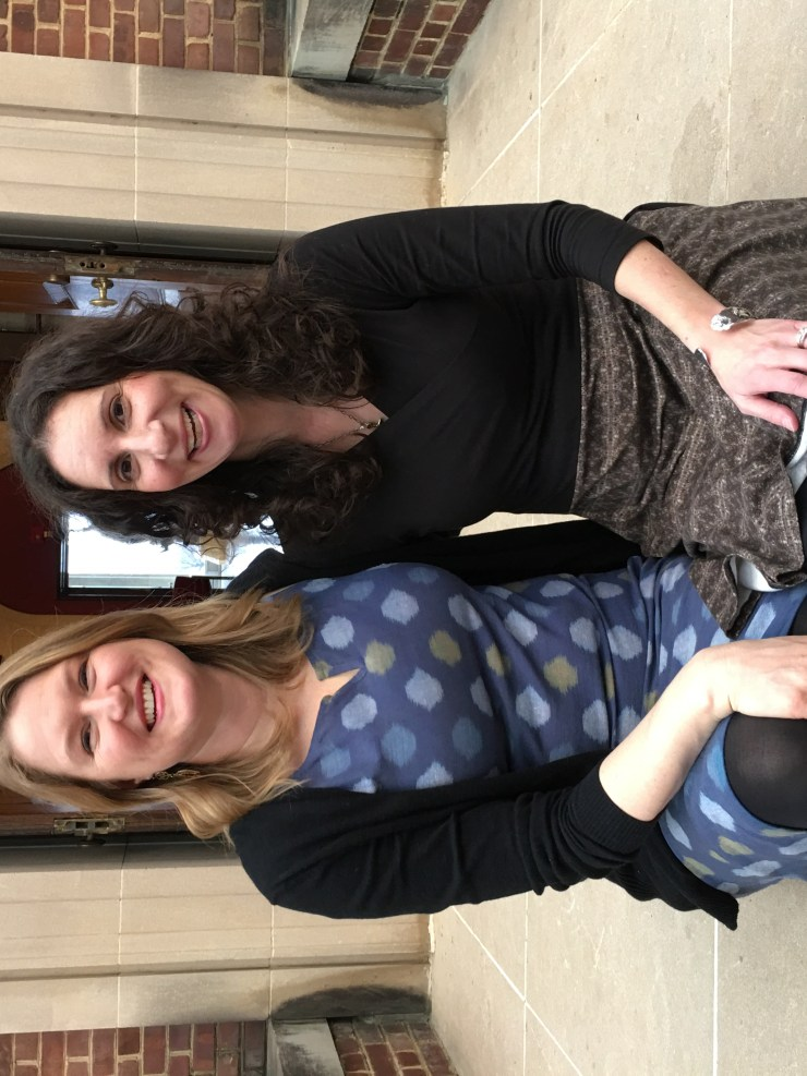 This is a picture of the authors, Sharon FIsher and Emma Williams.  They wrote Beyond The Egg Timer: A Companion guide for having babies in your mid-thirties and older. This  is the definitive book for trying to conceive after age 35.