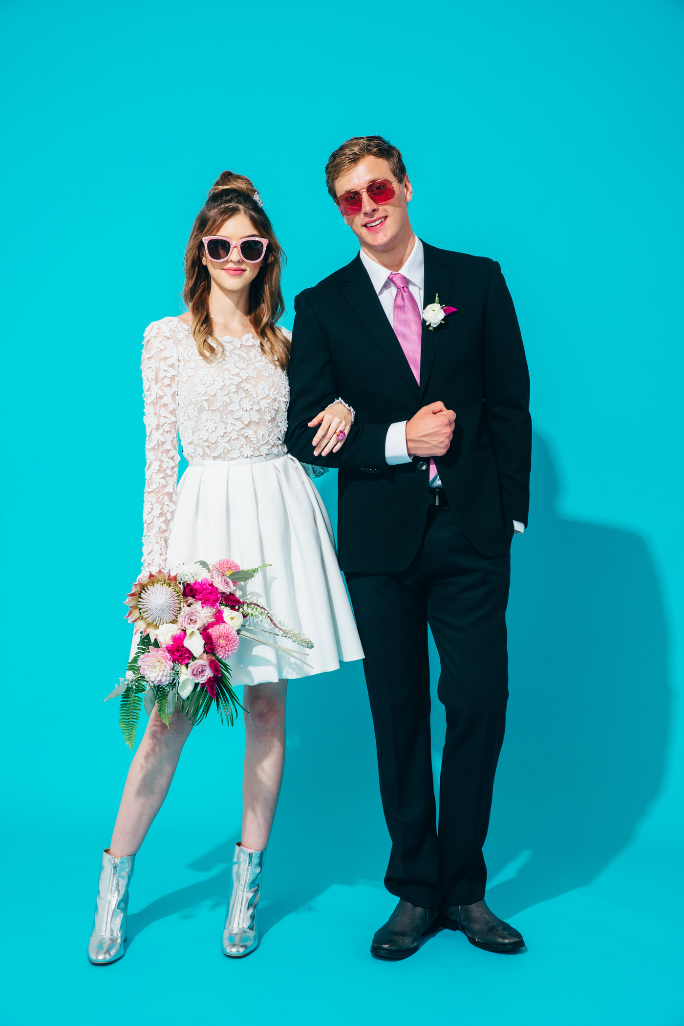 Bright and Fun Wedding Inspiration
