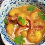 thai shrimp curry coconut milk