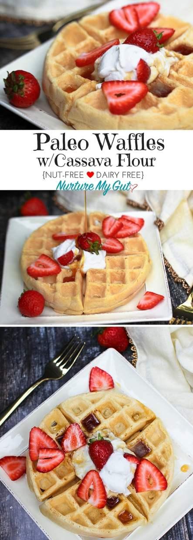 Paleo Waffles-with Cassava Flour