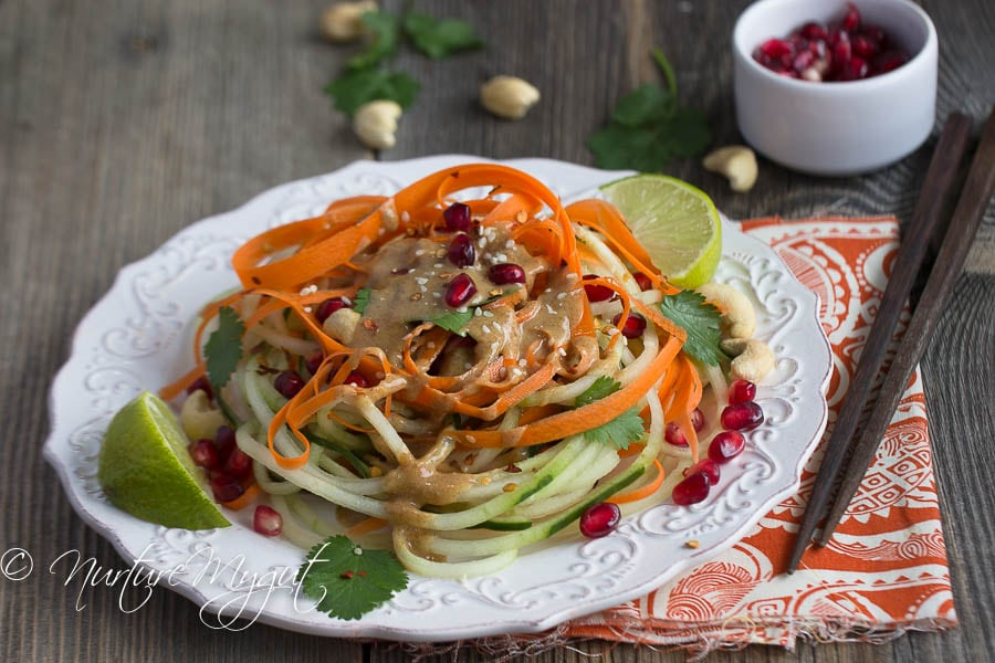 Thai Cucumber Noodles