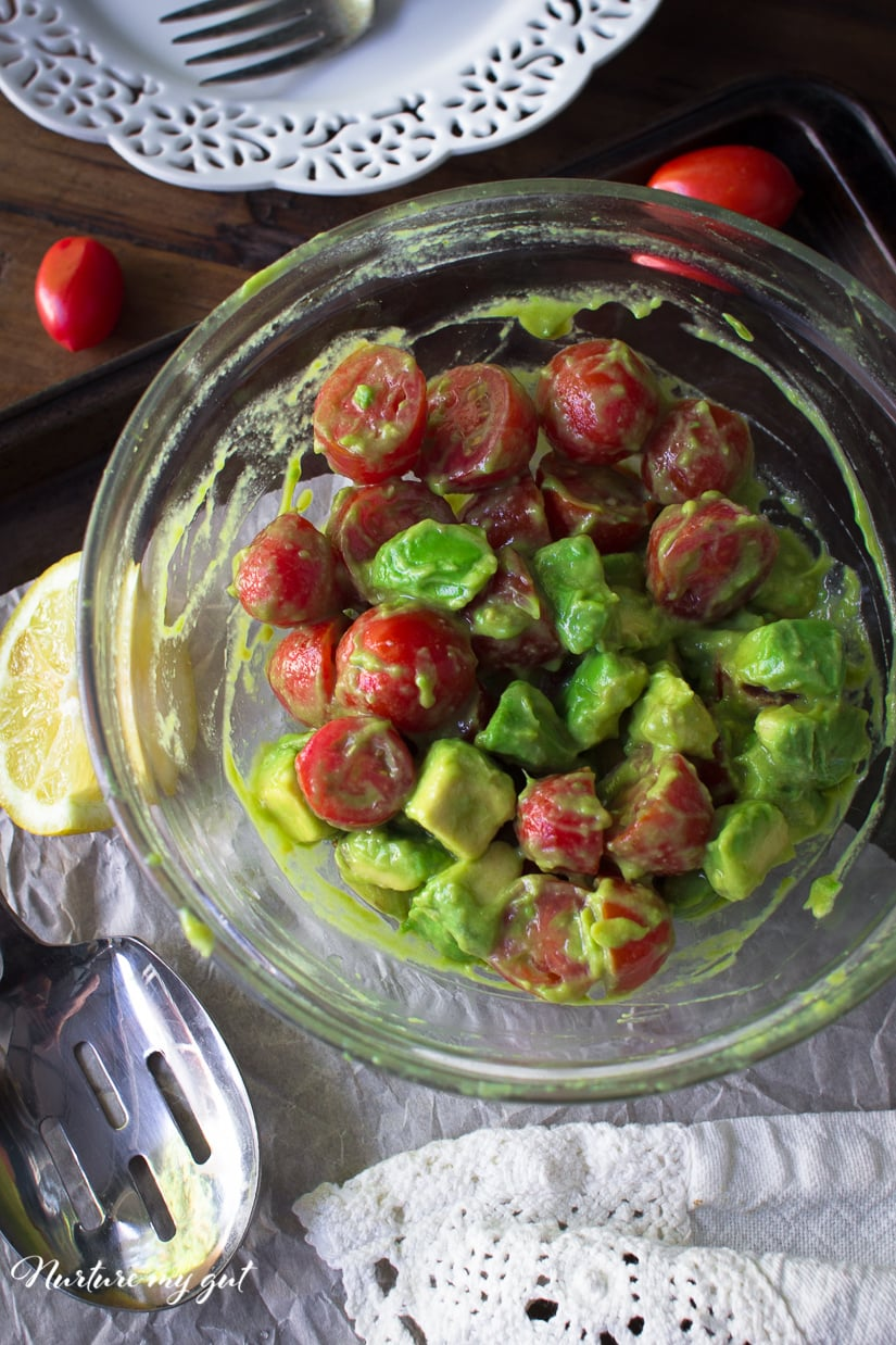 Lazy Guacamole Salad Recipe