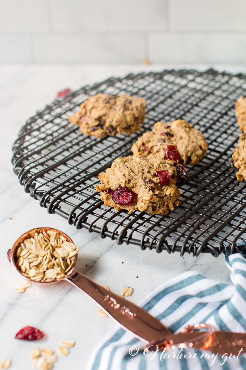 Gluten Free Oatmeal Breakfast Cookies