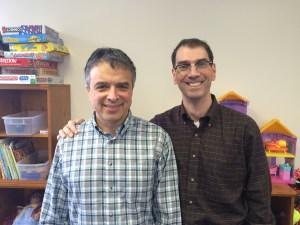 Dr. Moshe Shtuhl and Mr. Joshua Metz, Together for Success Program, Family Compass