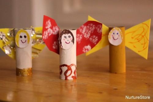 Christmas Angel Craft For Kids NurtureStore
