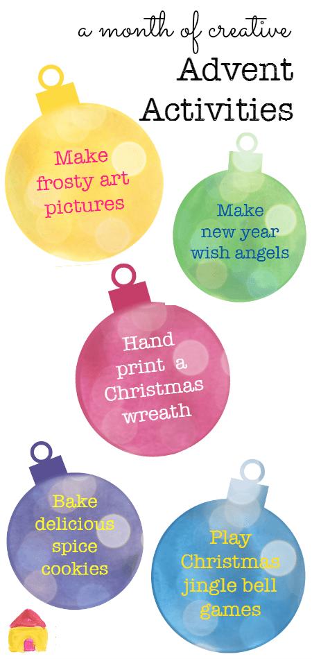 Creative Advent Activities For Kids NurtureStore