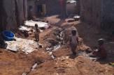 Arbeit in den Slumgebieten