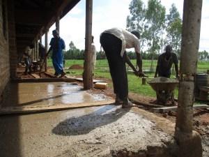 Boden-betonieren