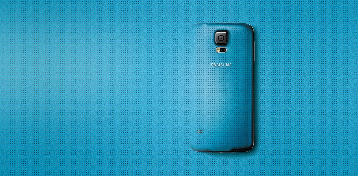 Samsung Galaxy S5 Warna Electric Blue
