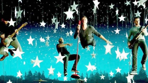 Promo Ghost Stories Coldplay di iTunes