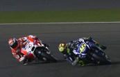 Andrea Dovizioso vs Valentino Rossi Losail 2015 MotoGP
