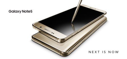 Next is Now Samsung GALAXY Note 5