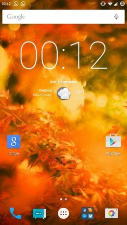 CM 12.1 di Xiaomi Mi 4 baru