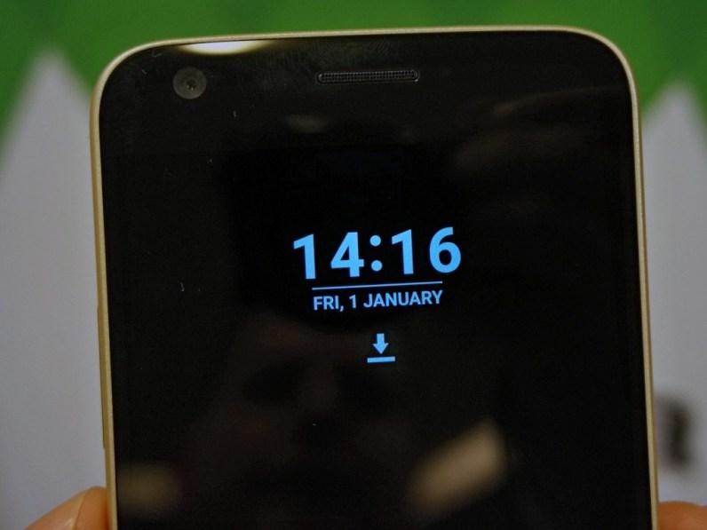 Always On Layar LG G5