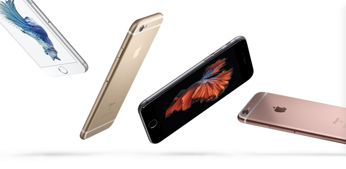 Apple iPhone 6s warna warni