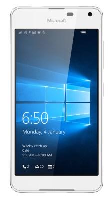 Microsoft Lumia 650 warna Putih