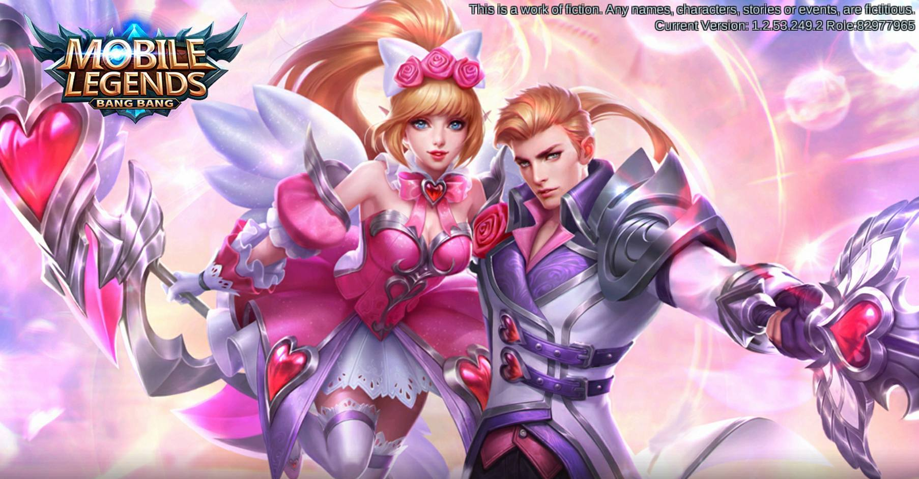Hero Miya dan Alucard Edisi Valentine Mobile Legends
