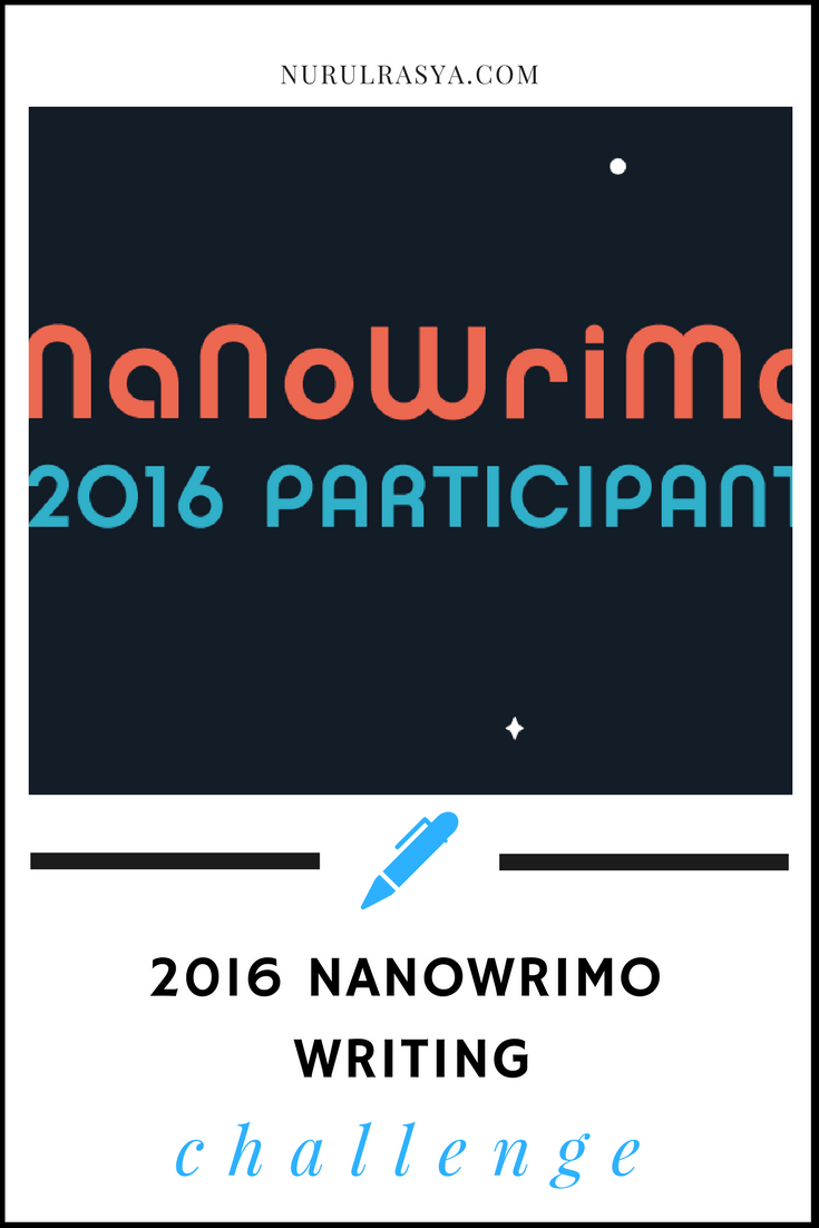 nanowrimo writing challenge