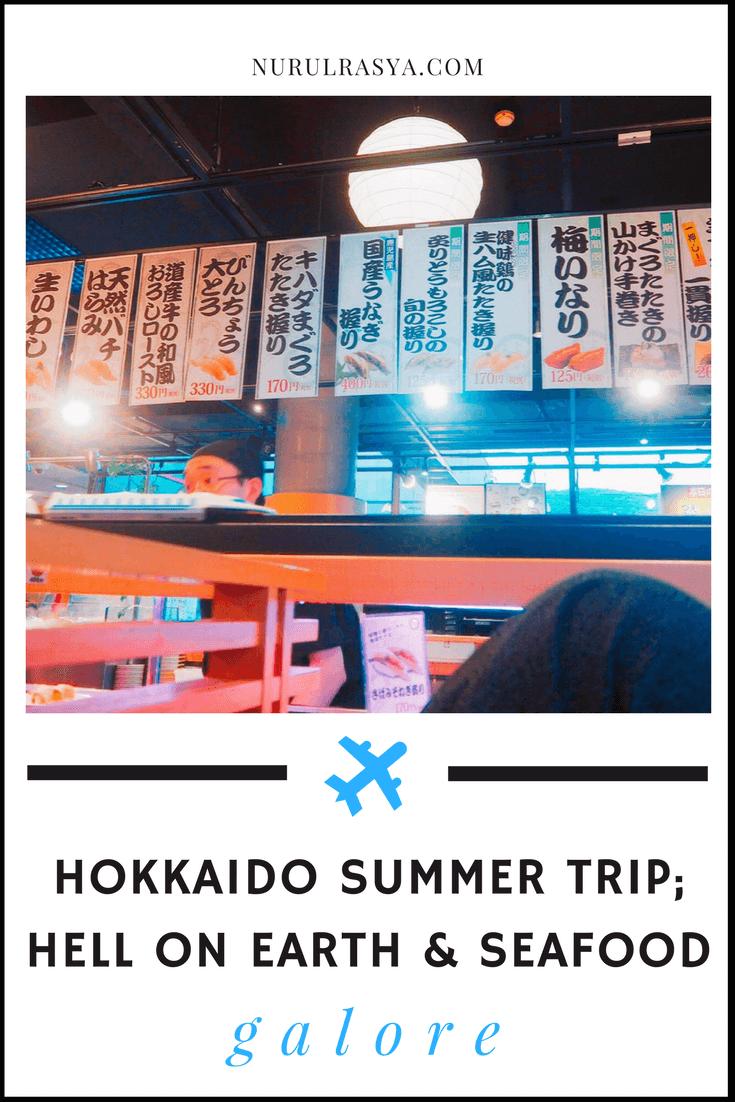 hokkaido summer trip