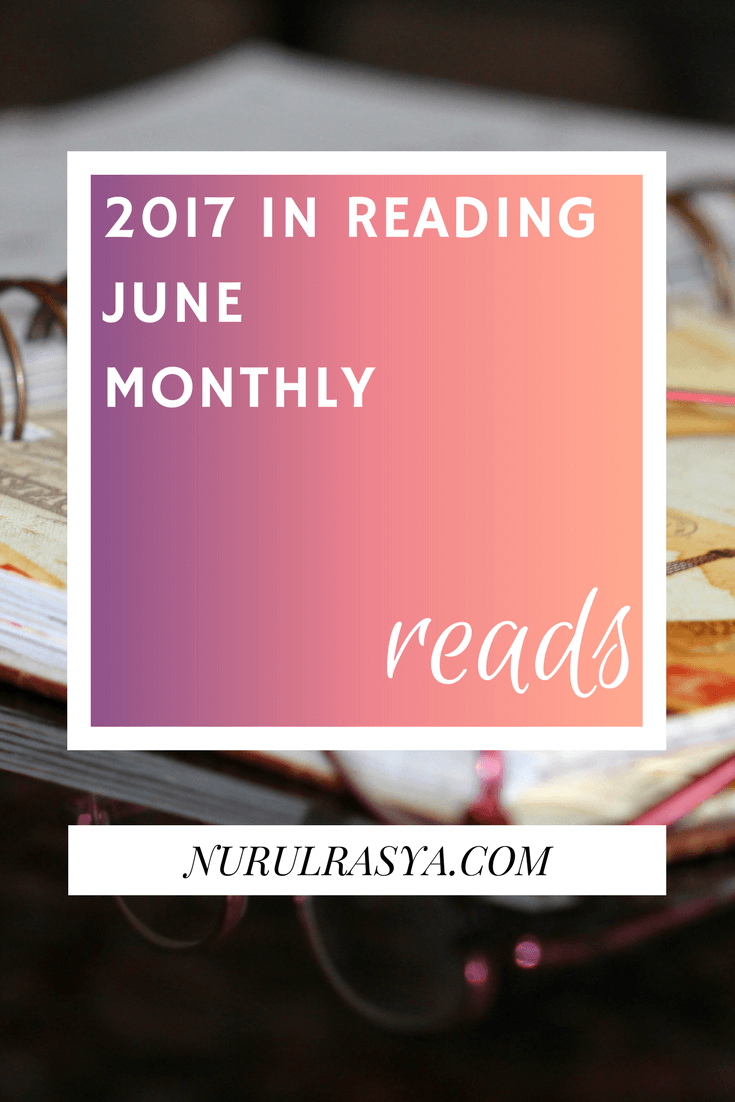 2017 In Reading | June Monthly Reads