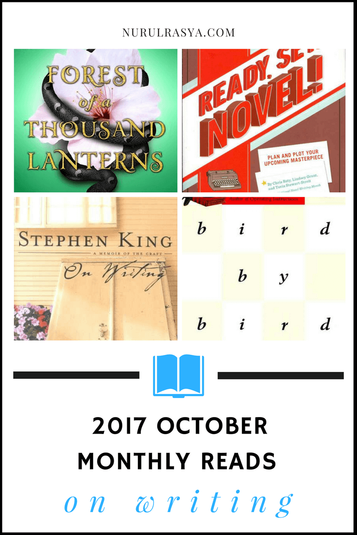2017 october monthly reads