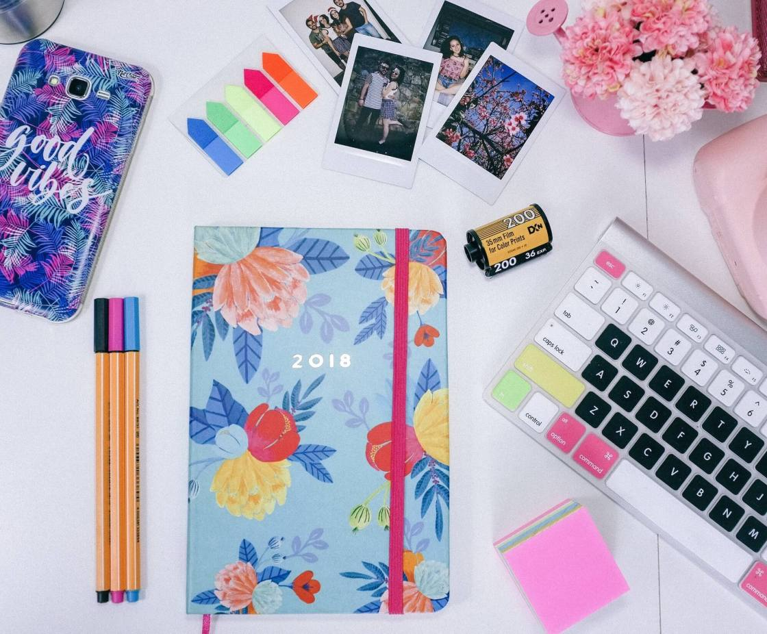 Pretty stationery and planner