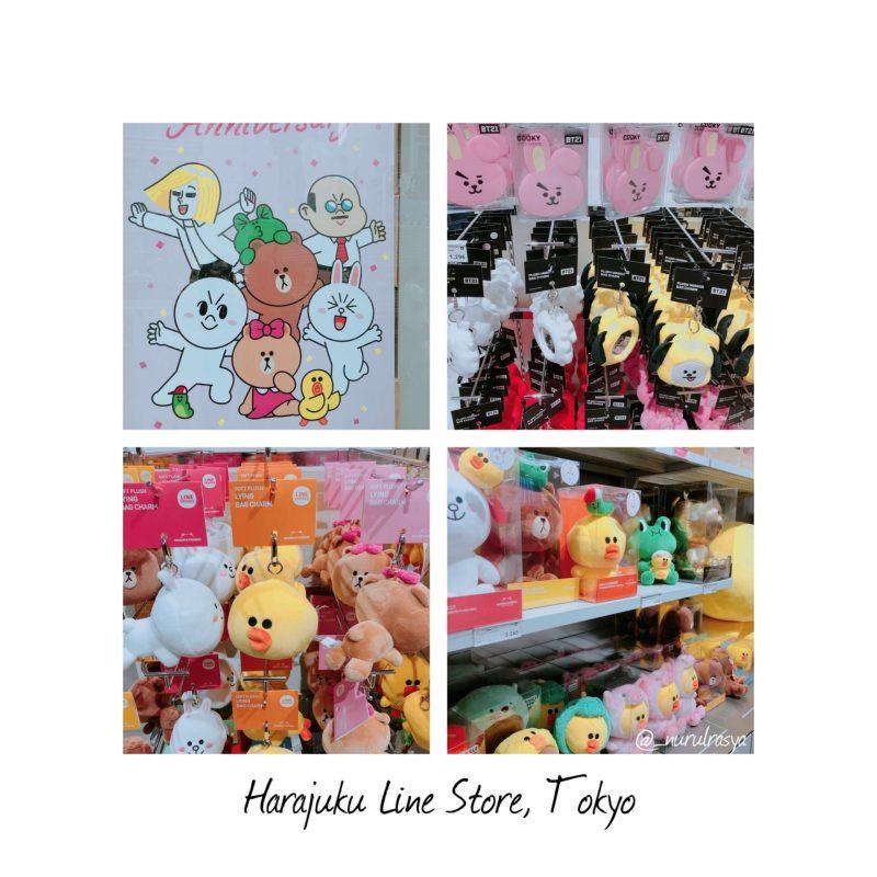 Harajuku LINE Friends Store