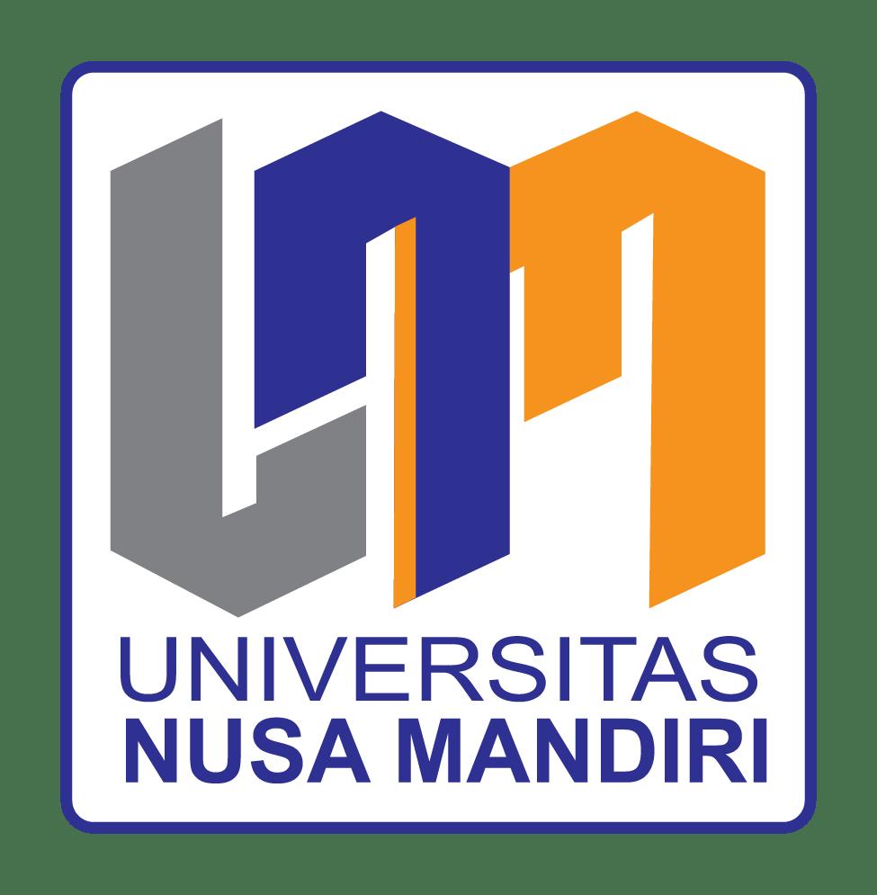 logo universitas nusa mandiri
