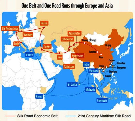 One Belt One Road/Foto Istimewa/Nusantaranews