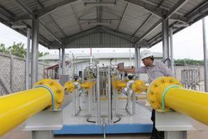 Infrastruktur Gas Bumi di Jawa Timur/Foto via bumn.go.id