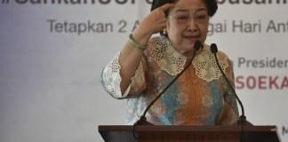 Megawati Soekarnoputri/Antara Foto/Puspa Perwitasari