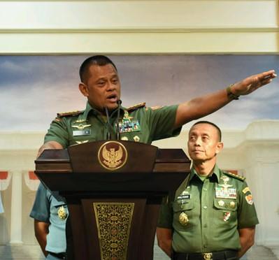 Panglima TNI Jenderal Gatot Nurmantyo/Foto; Dok. Humas Setkab