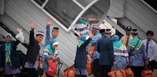 3.917 Jamaah Sudah Diberangkatkan ke Tanah Suci/Foto nusantaranews via liputan6
