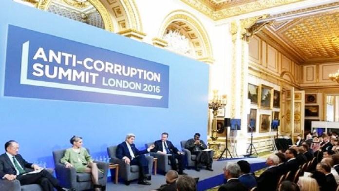 KTT Anti Korupsi pertama sedunia pada 12 Mei 2016 di London. (Foto: Reuters)