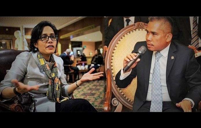 Menteri Keuangan Sri Mulyani dan Achmad Hafidz Tohir/Ilustrasi foto nusantaranews