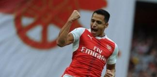 Alexis Sanchez tunjukkan ketajamannya dengan satu gol dan satu assist, saat tumbangkan Chelsea 3-0/Foto Istimewa